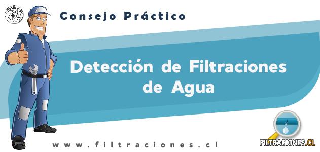 Consejo de filtración de cañería de agua