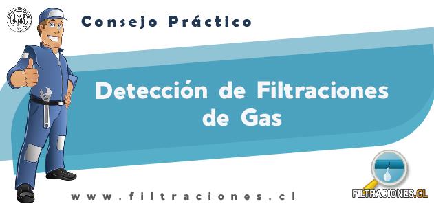 Consejo de filtración de cañería de gas